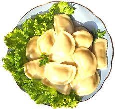Вареники с луком и картофелем