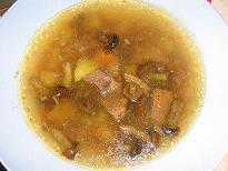 Готовые супы из замороженных полуфабрикатов.