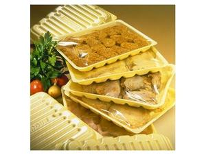 Упаковка мяса и других полуфабрикатов.